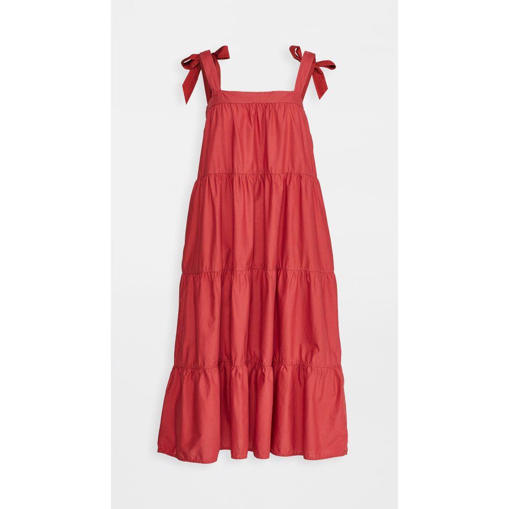 ネーション Nation LTD レディース ワンピース ティアードドレス ワンピース・ドレス【Amelia Tiered Dress】Vintage Red