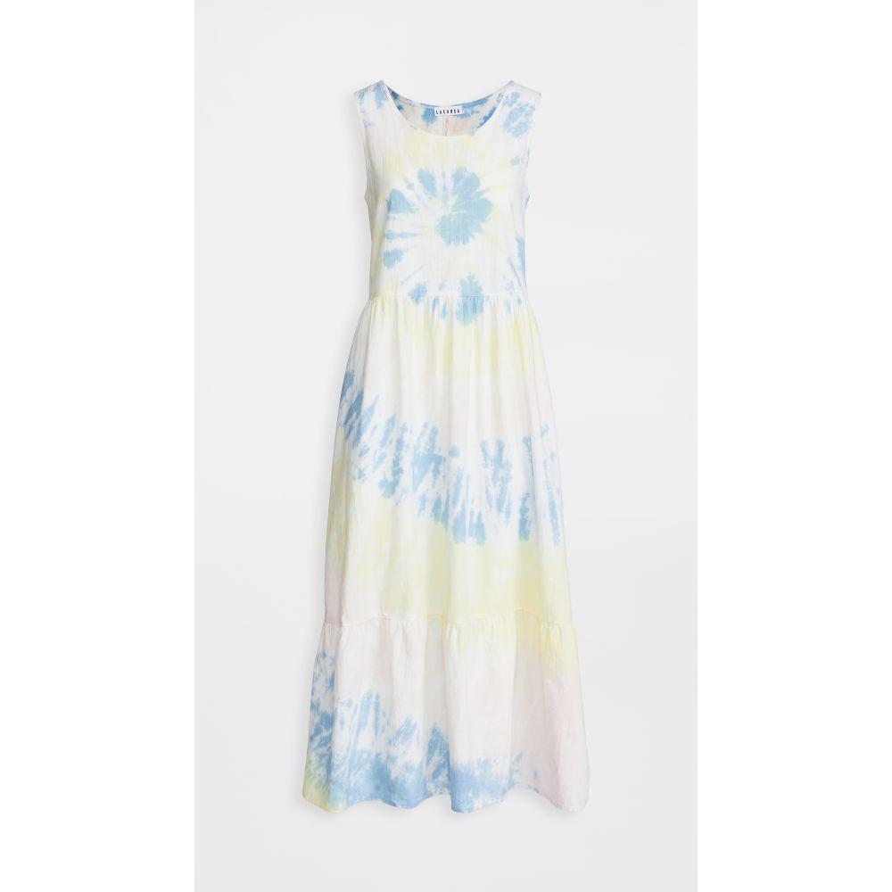 ワンバイ ONE by レディース ワンピース ワンピース・ドレス【Skye Dress】Ziggy Tie Dye