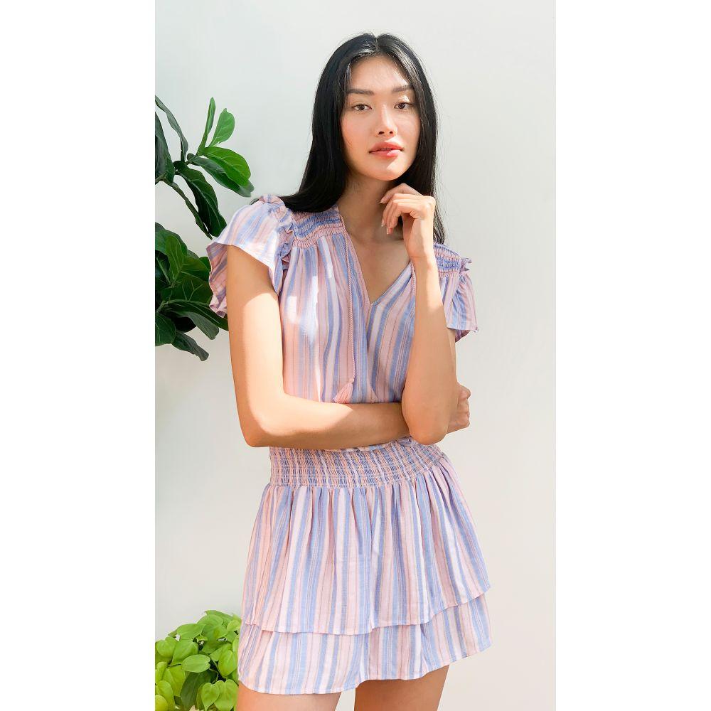 ペイジ PAIGE レディース ワンピース ワンピース・ドレス【Cristina Dress】Tanzanite Multi
