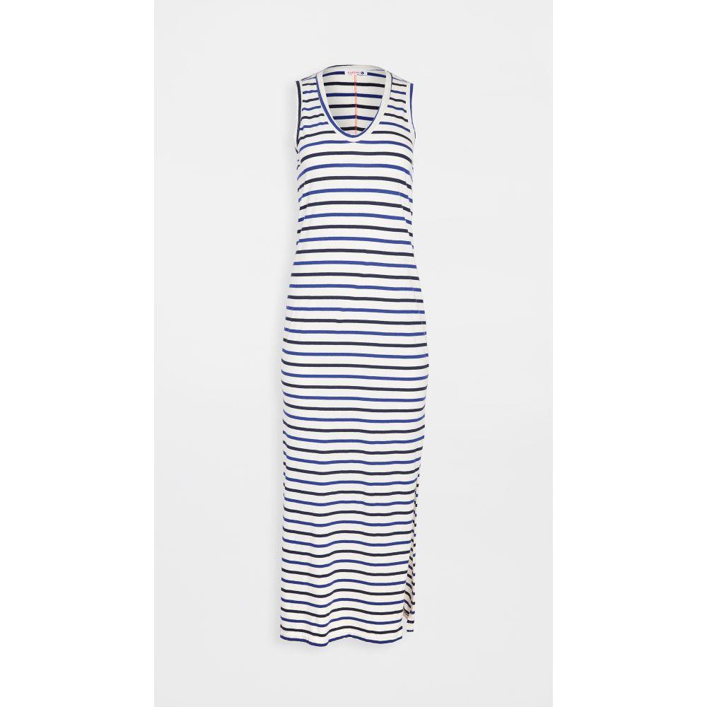 サンドリー SUNDRY レディース ワンピース タンクドレス マキシ丈 ワンピース・ドレス【Maxi Tank Dress】Natural/Blue Stripes