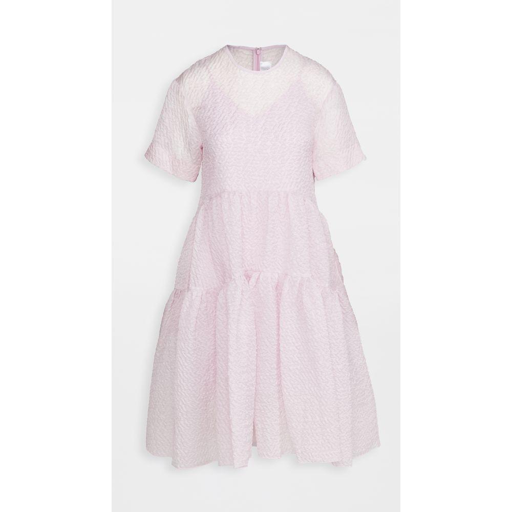 ヴィクトリア ベッカム Victoria Victoria Beckham レディース ワンピース ワンピース・ドレス【Exagerated Cocoon Dress】Lilac Pink