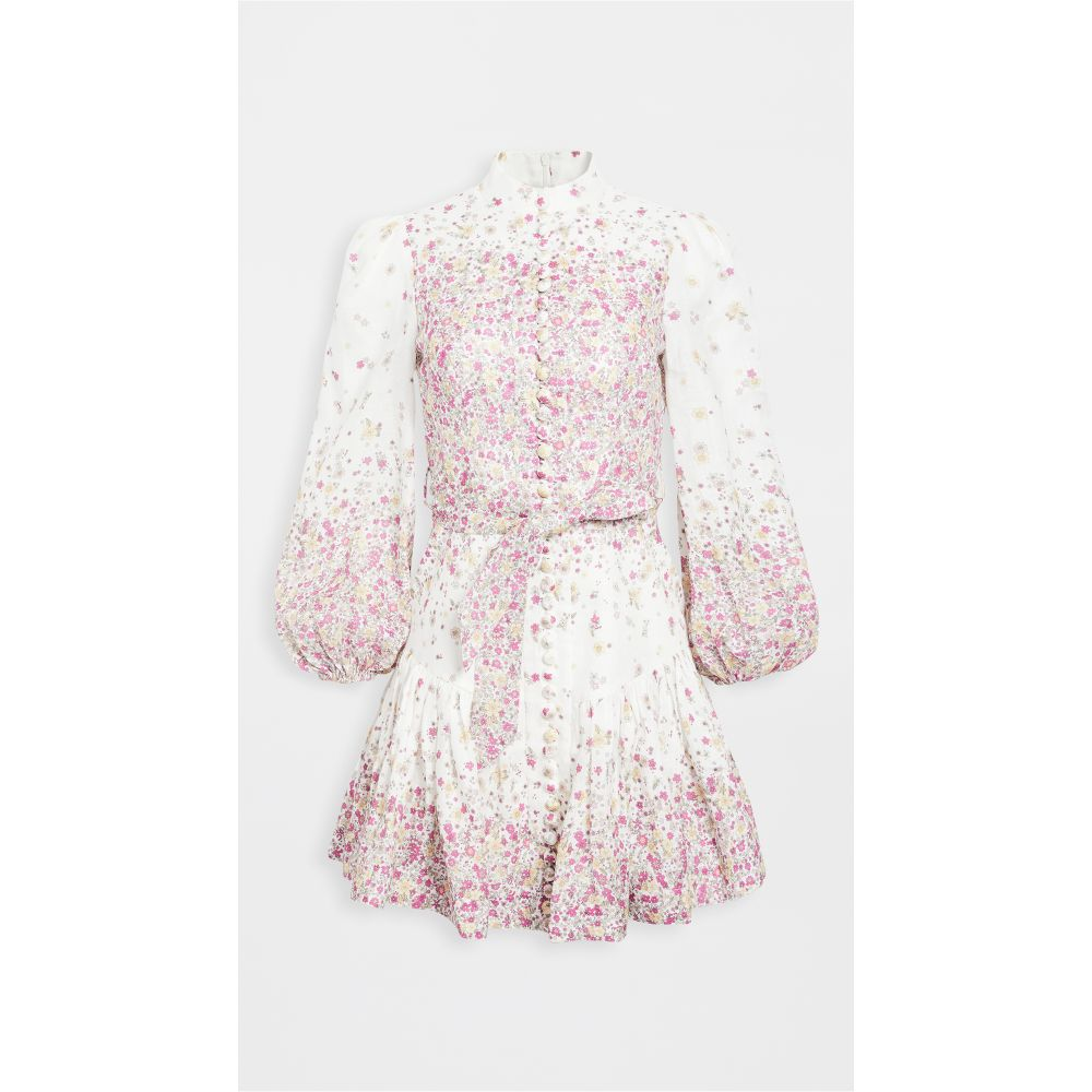 ジマーマン Zimmermann レディース ワンピース ワンピース・ドレス【Carnaby Short Dress】Cerise Ditsy