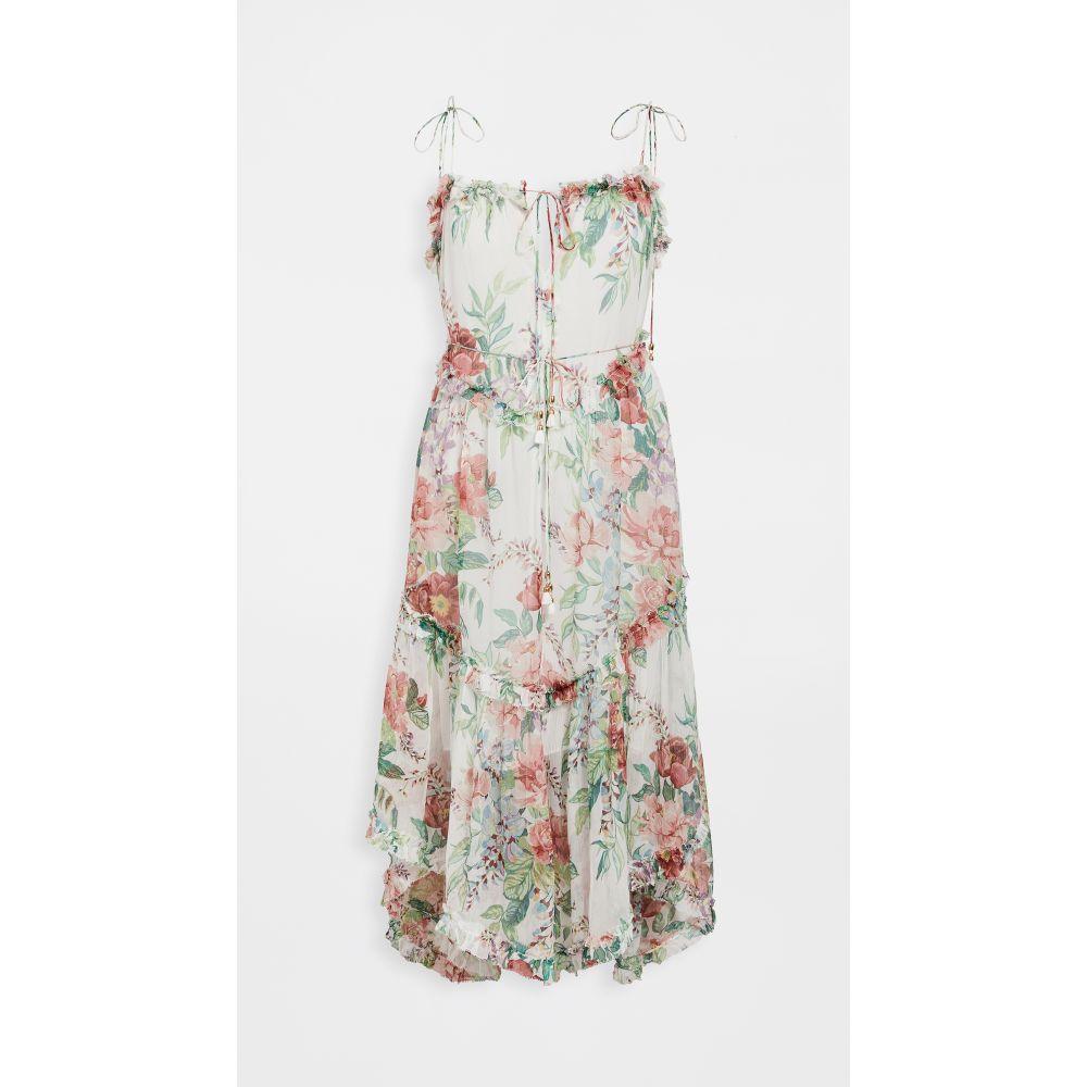 ジマーマン Zimmermann レディース ワンピース ワンピース・ドレス【Bellitude Floating Dress】Ivory Floral