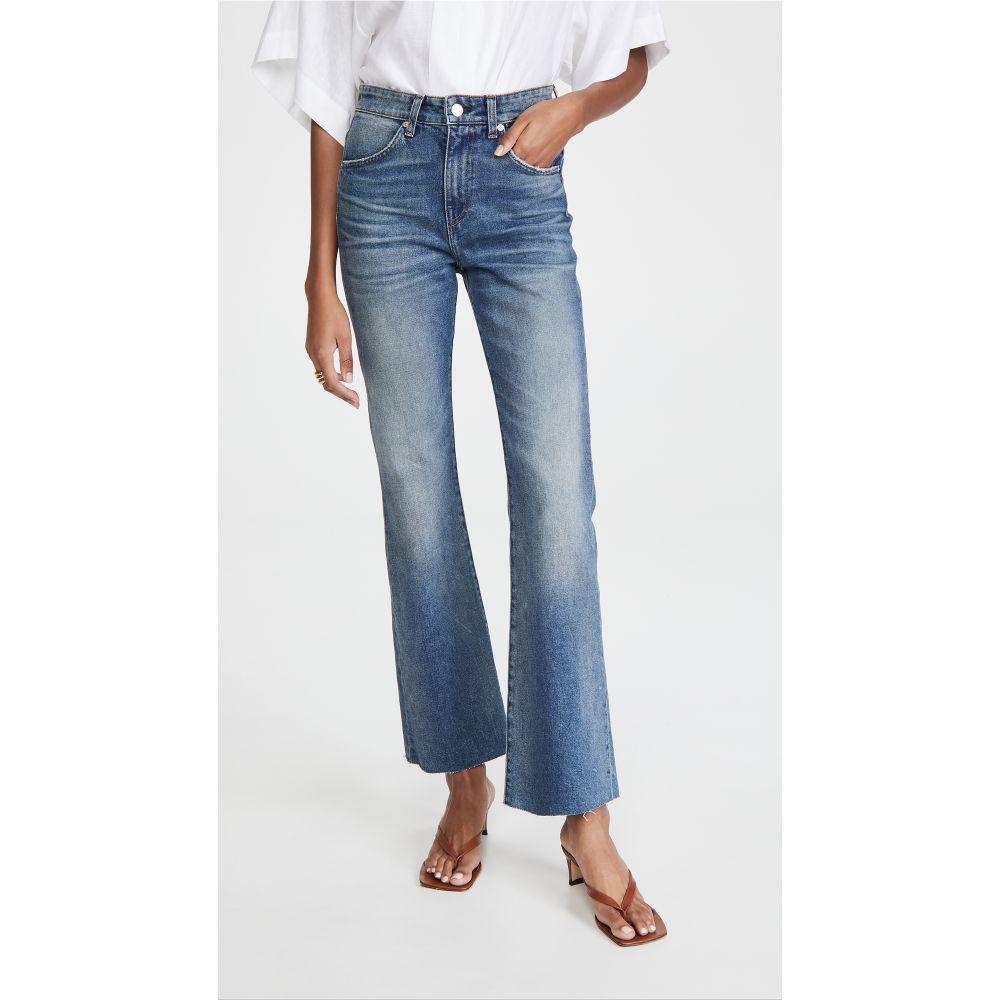 CQY レディース ジーンズ・デニム ブーツカット ボトムス・パンツ【Bliss High Rise Bootcut Jeans】Thoughtful