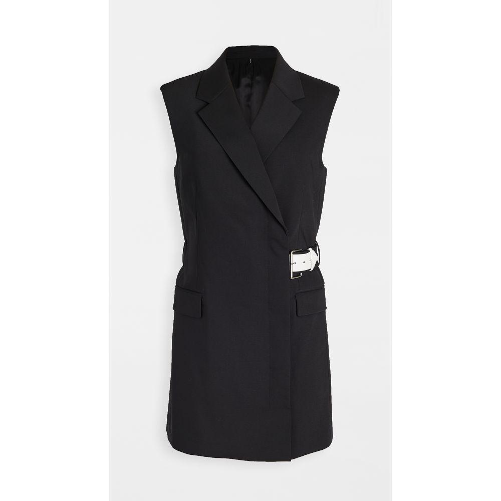 ヘルムート ラング Helmut Lang レディース ベスト・ジレ トップス【Belted Vest】Black