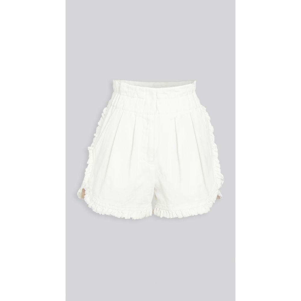 シー Sea レディース ショートパンツ ボトムス・パンツ【Doris Ruffle Shorts】White