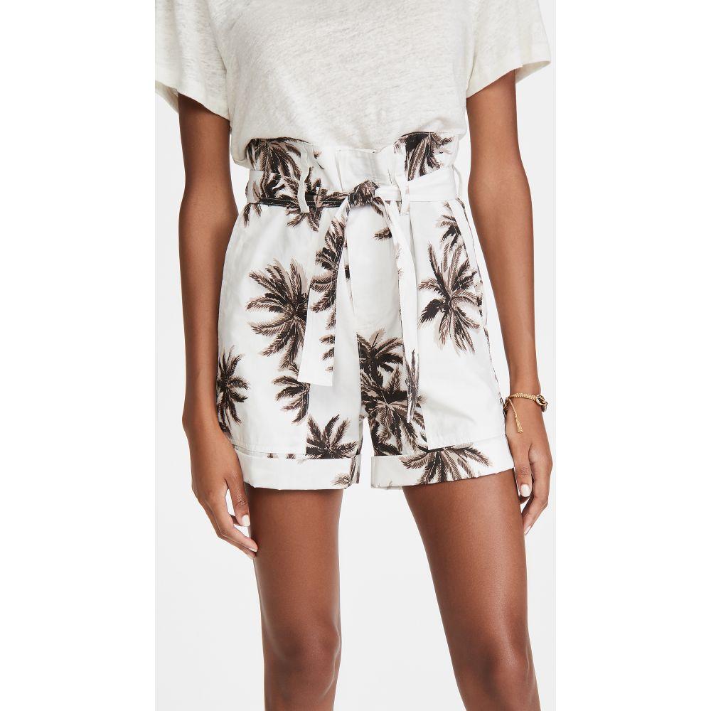 ル シュペルブ Le Superbe レディース ショートパンツ ボトムス・パンツ【The Palms Paper Bag Shorts】Tan Cannabis Palm