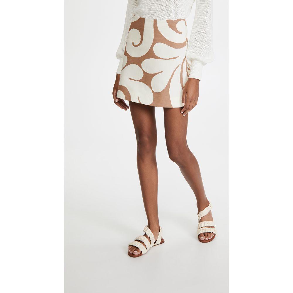 マルニ Marni レディース ミニスカート スカート【Printed Miniskirt】Caramel
