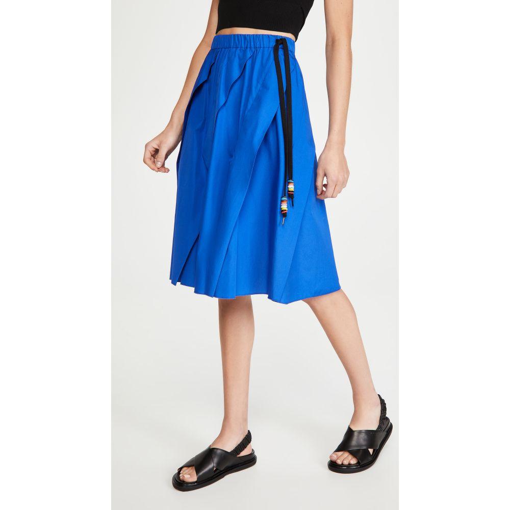 ヌメロ ヴェントゥーノ No. 21 レディース ひざ丈スカート スカート【Midi Skirt】Bluette