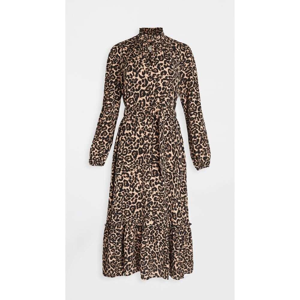バウム ウンド ヘルガーデン BAUM UND PFERDGARTEN レディース ワンピース ワンピース・ドレス【Antoinette Dress】Natural Leopard