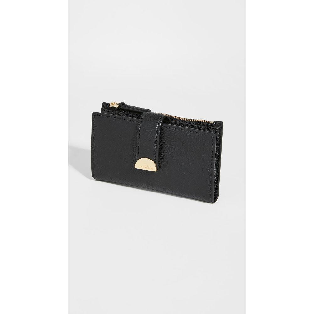 マーク ジェイコブス The Marc Jacobs レディース 財布 【Medium Flat Wallet】Black