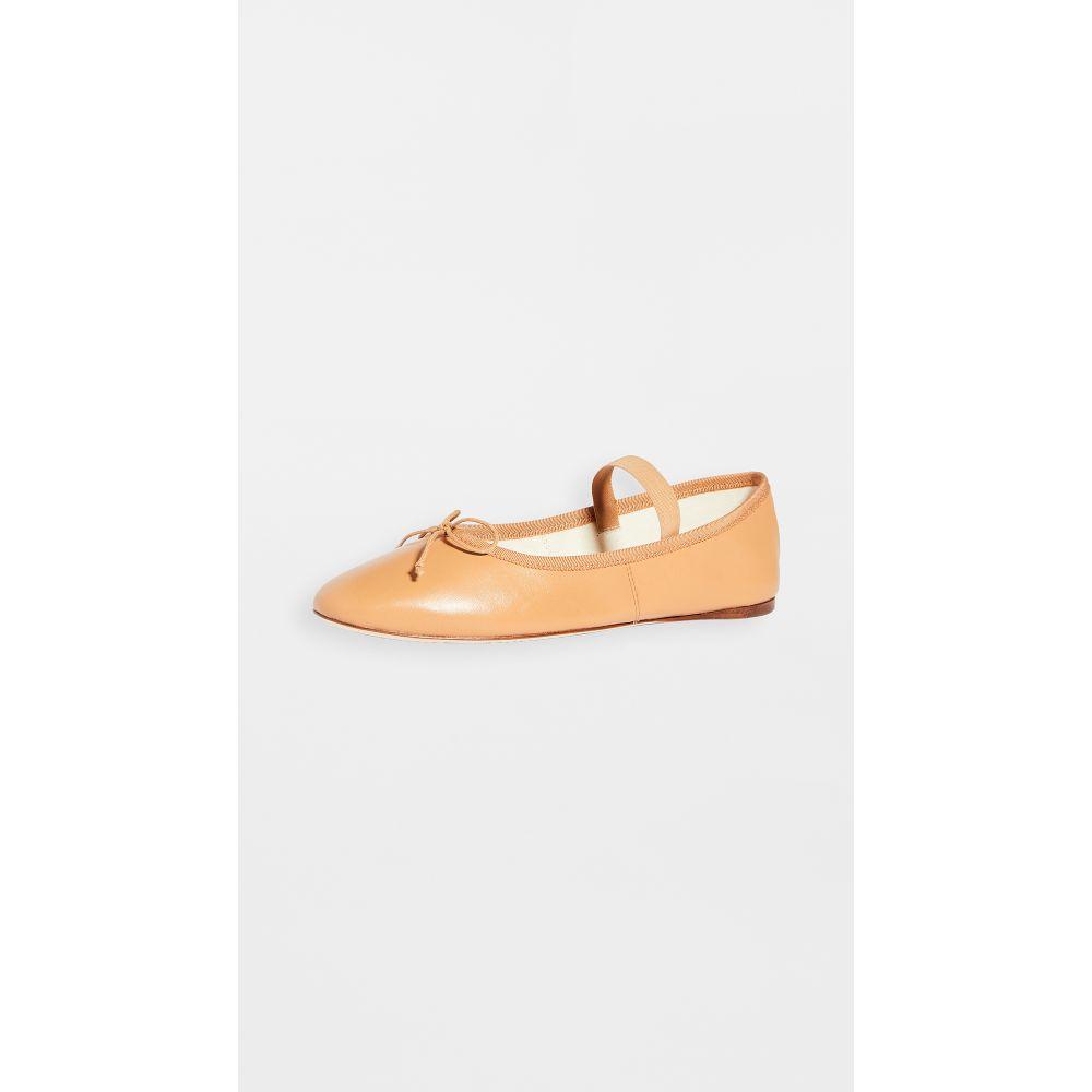 ロフラーランドール Loeffler Randall レディース スリッポン・フラット シューズ・靴【Leonie Soft Ballet Flats】Caramel