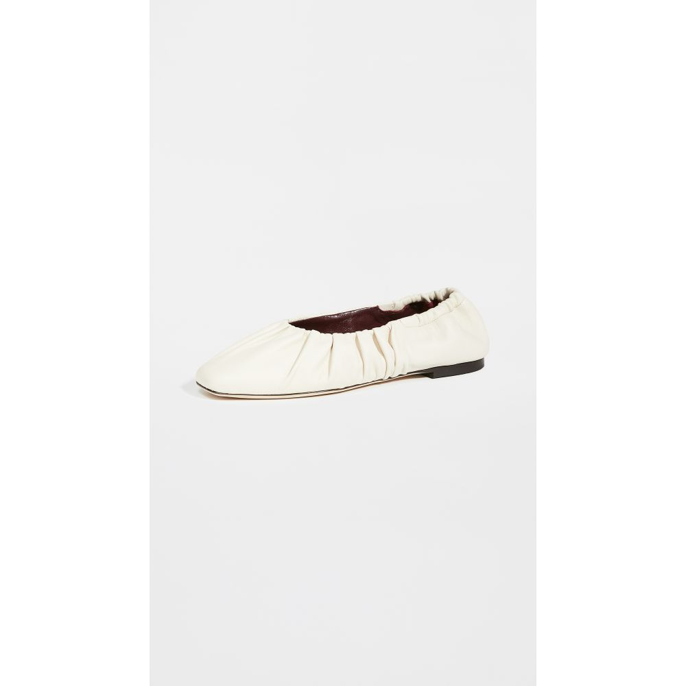 スタウド STAUD レディース スリッポン・フラット シューズ・靴【Tuli Ballet Flats】Cream