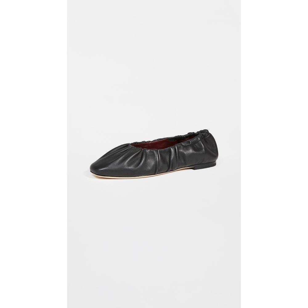 スタウド STAUD レディース スリッポン・フラット シューズ・靴【Tuli Ballet Flats】Black