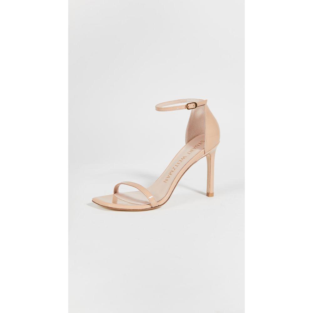 スチュアート ワイツマン Stuart Weitzman レディース パンプス スクエアトゥ シューズ・靴【95mm Amelina Square Toe Sandals】Adobe
