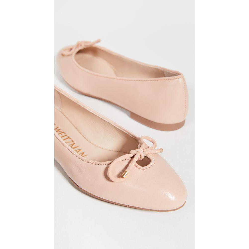 スチュアート ワイツマン Stuart Weitzman レディース スリッポン・フラット シューズ・靴【Gabby Ballet Flats】Dress Nappa