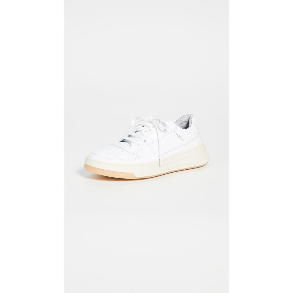 アクネ ストゥディオズ Acne Studios レディース スニーカー シューズ・靴【Steffey Sneakers】White/White