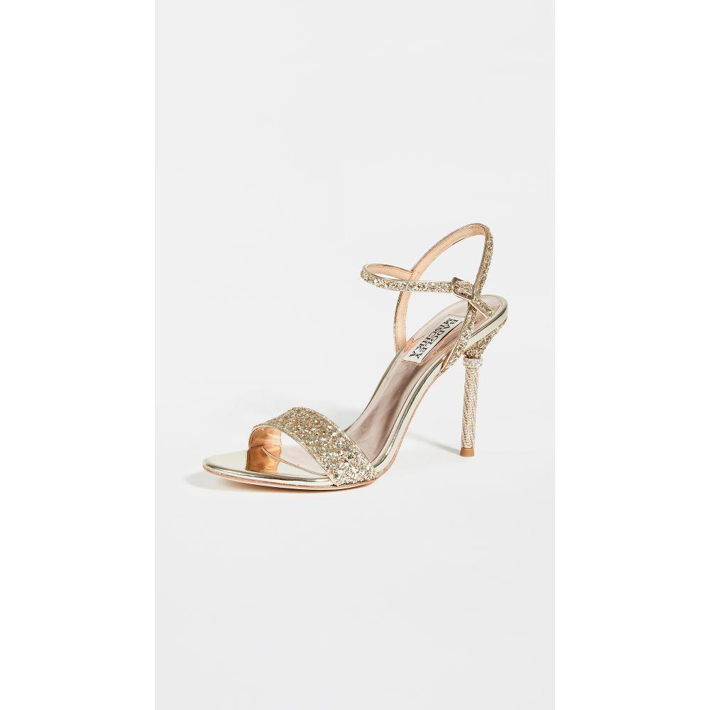 バッジェリー ミシュカ Badgley Mischka レディース サンダル・ミュール シューズ・靴【Olympia Strappy Sandals】Platino