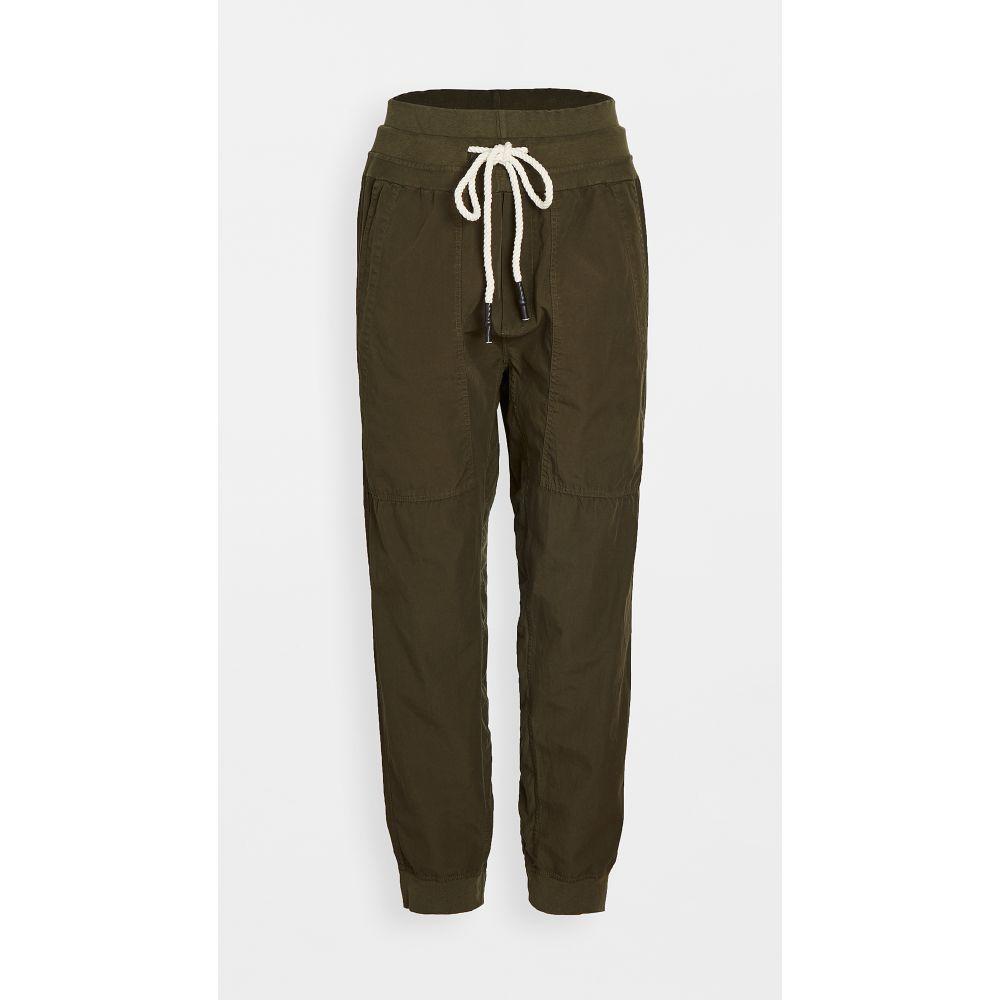 ベイシーク Bassike レディース スウェット・ジャージ ボトムス・パンツ【Utility Cotton Jersey Pants】Juniper