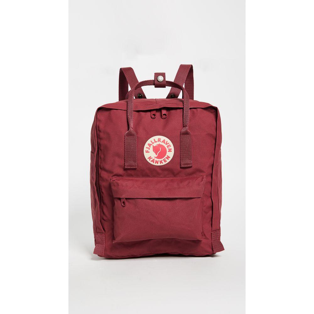 フェールラーベン Fjallraven レディース バックパック・リュック カンケン バッグ【Kanken Backpack】Ox Red