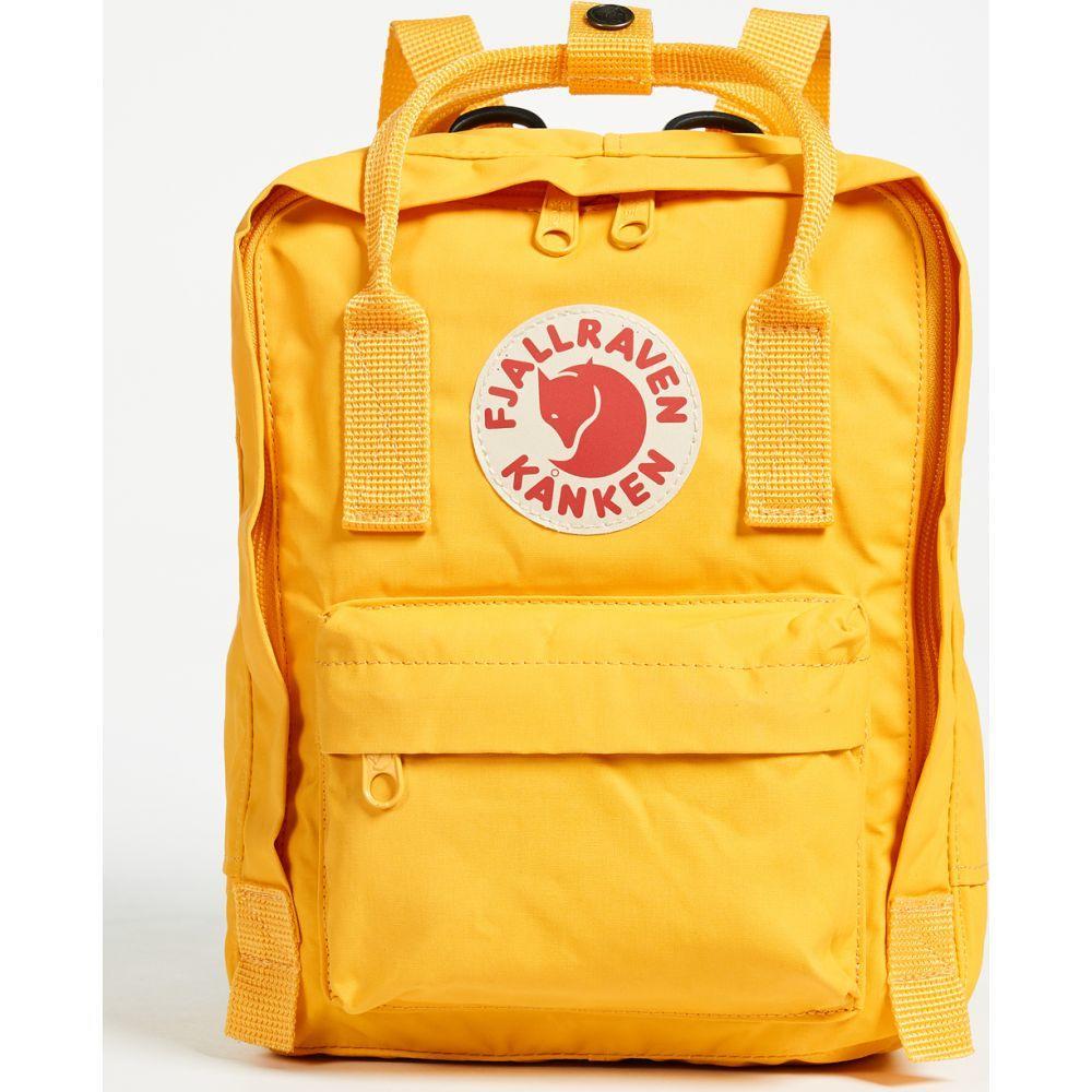 フェールラーベン Fjallraven レディース バックパック・リュック カンケン バッグ【Kanken Mini Backpack】Warm Yellow