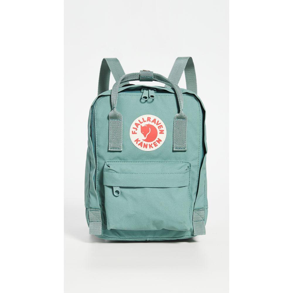 フェールラーベン Fjallraven レディース バックパック・リュック カンケン バッグ【Kanken Mini Backpack】Frost Green