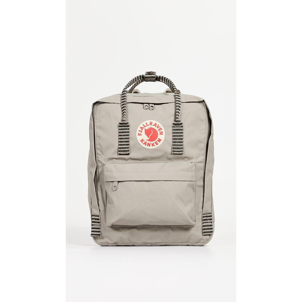 フェールラーベン Fjallraven レディース バックパック・リュック カンケン バッグ【Kanken Backpack】Fog/Striped