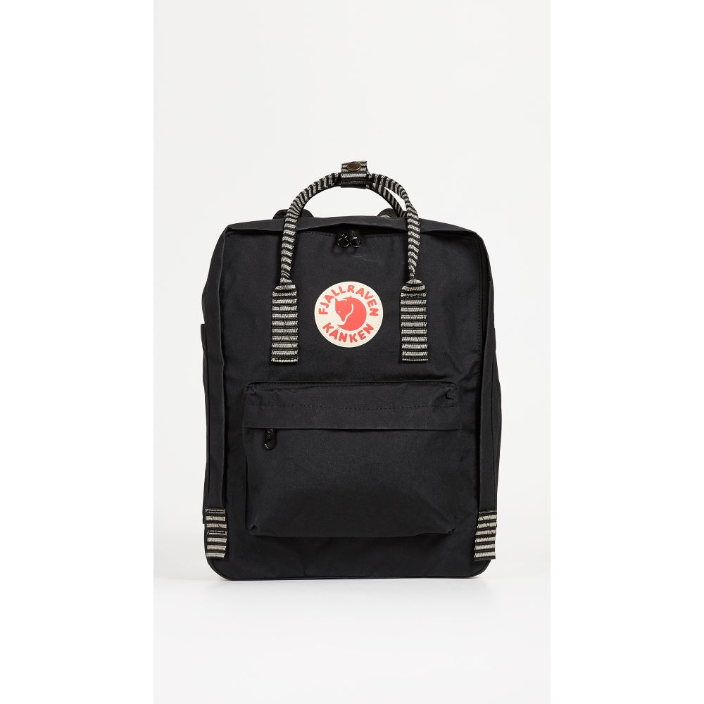 フェールラーベン Fjallraven レディース バックパック・リュック カンケン バッグ【Kanken Backpack】Black/Striped