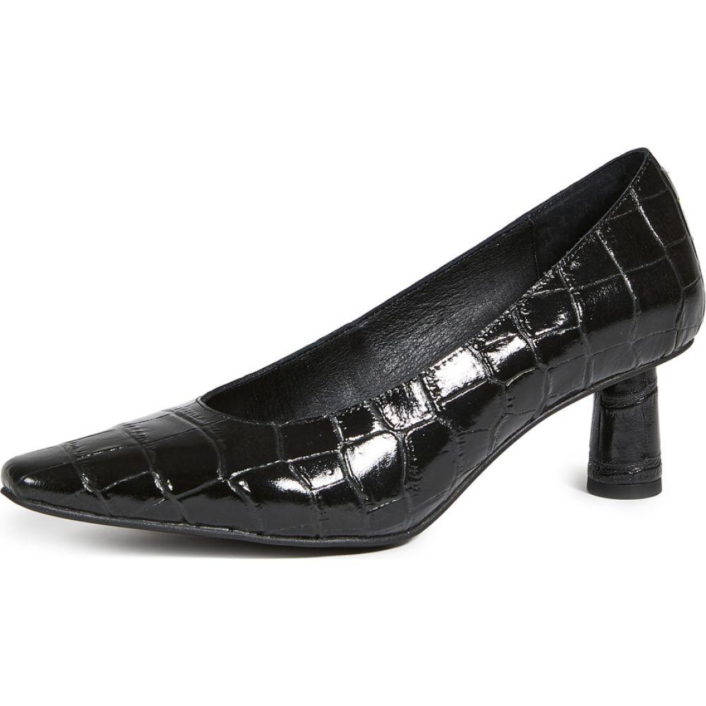 シューズ 靴 Mishka レディース キャンベル Campbell パンプス ジェフリー Croco Pumps Black Jeffrey シューズ 靴 Mishka Croco
