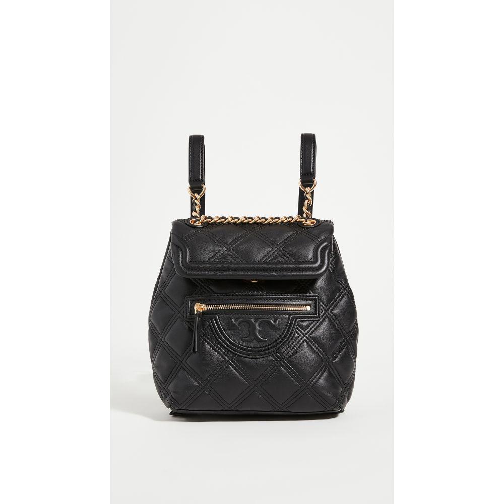 トリー バーチ Tory Burch レディース バックパック・リュック バッグ【Fleming Soft Mini Backpack】Black