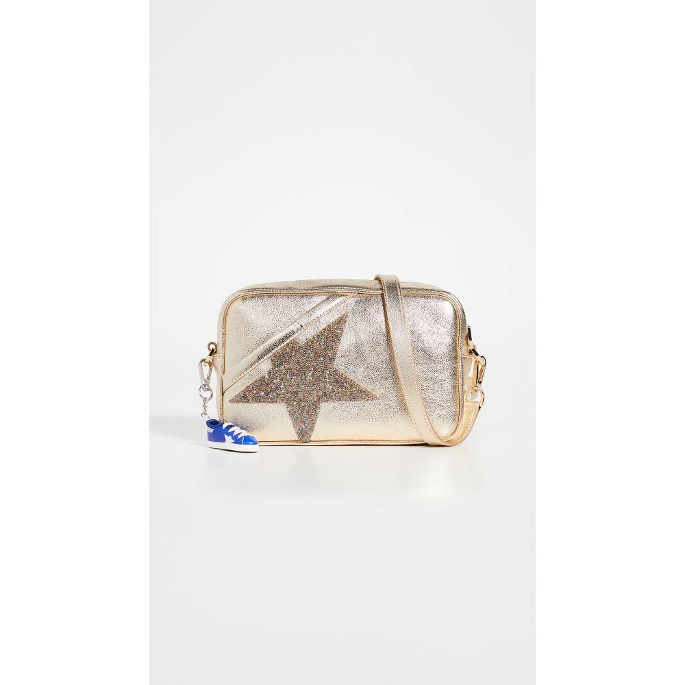 ゴールデン グース Golden Goose レディース ショルダーバッグ バッグ【Metallic Star Bag】Gold/Crystal