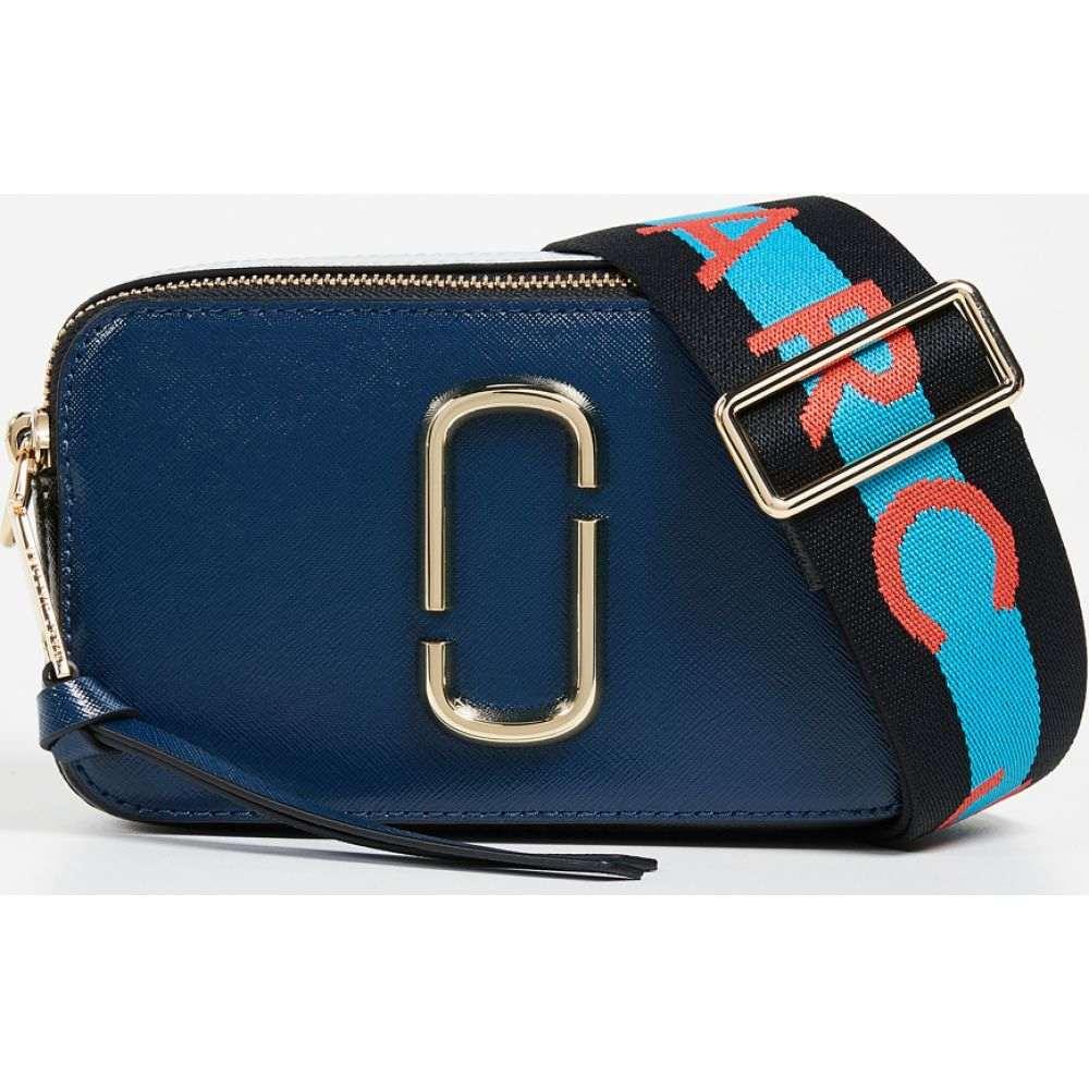 マーク ジェイコブス The Marc Jacobs レディース ショルダーバッグ カメラバッグ バッグ【Snapshot Camera Bag】Blue Sea Multi