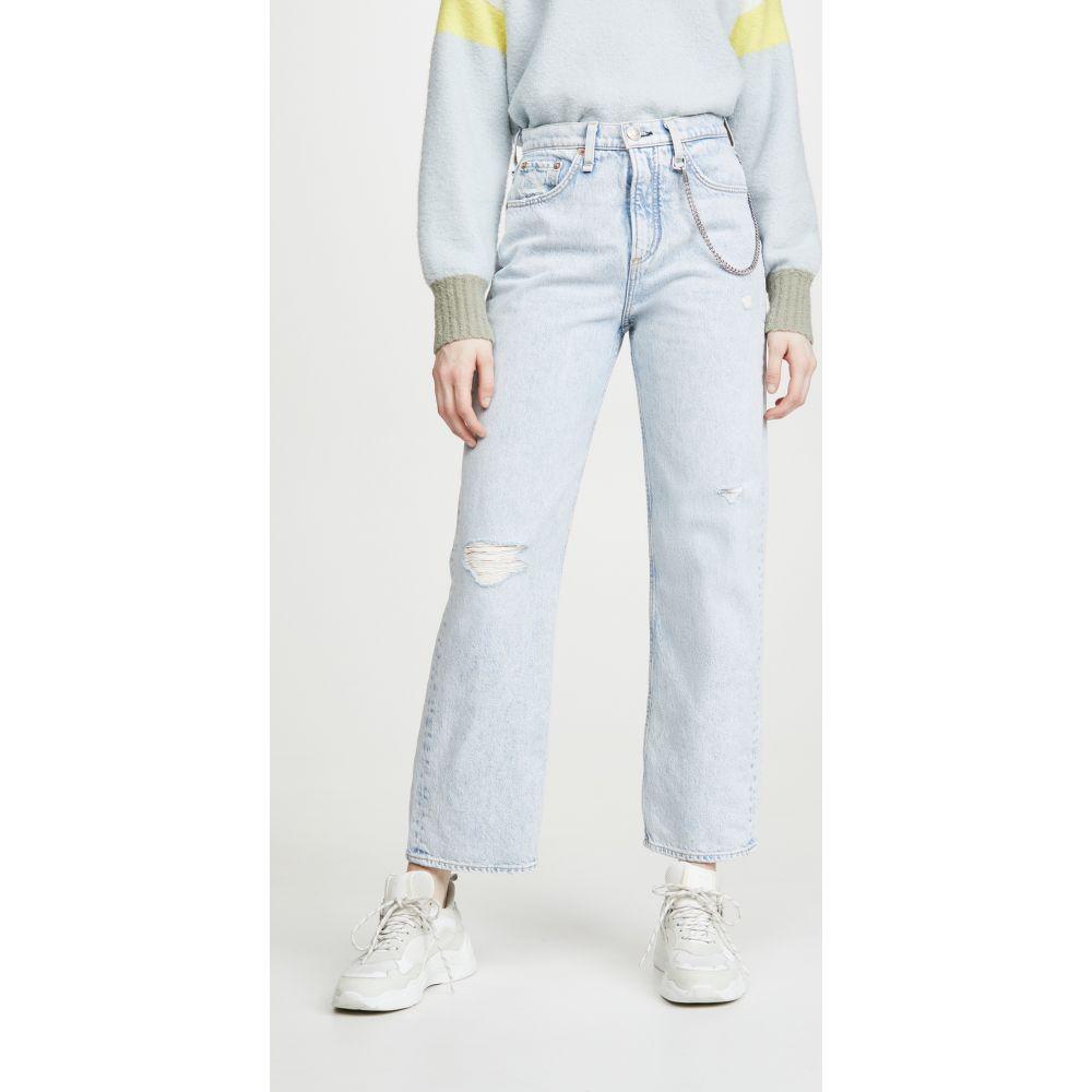 ラグ&ボーン Rag & Bone/JEAN レディース ジーンズ・デニム ボトムス・パンツ【Ruth Super High-Rise Straight Jeans】New Girl