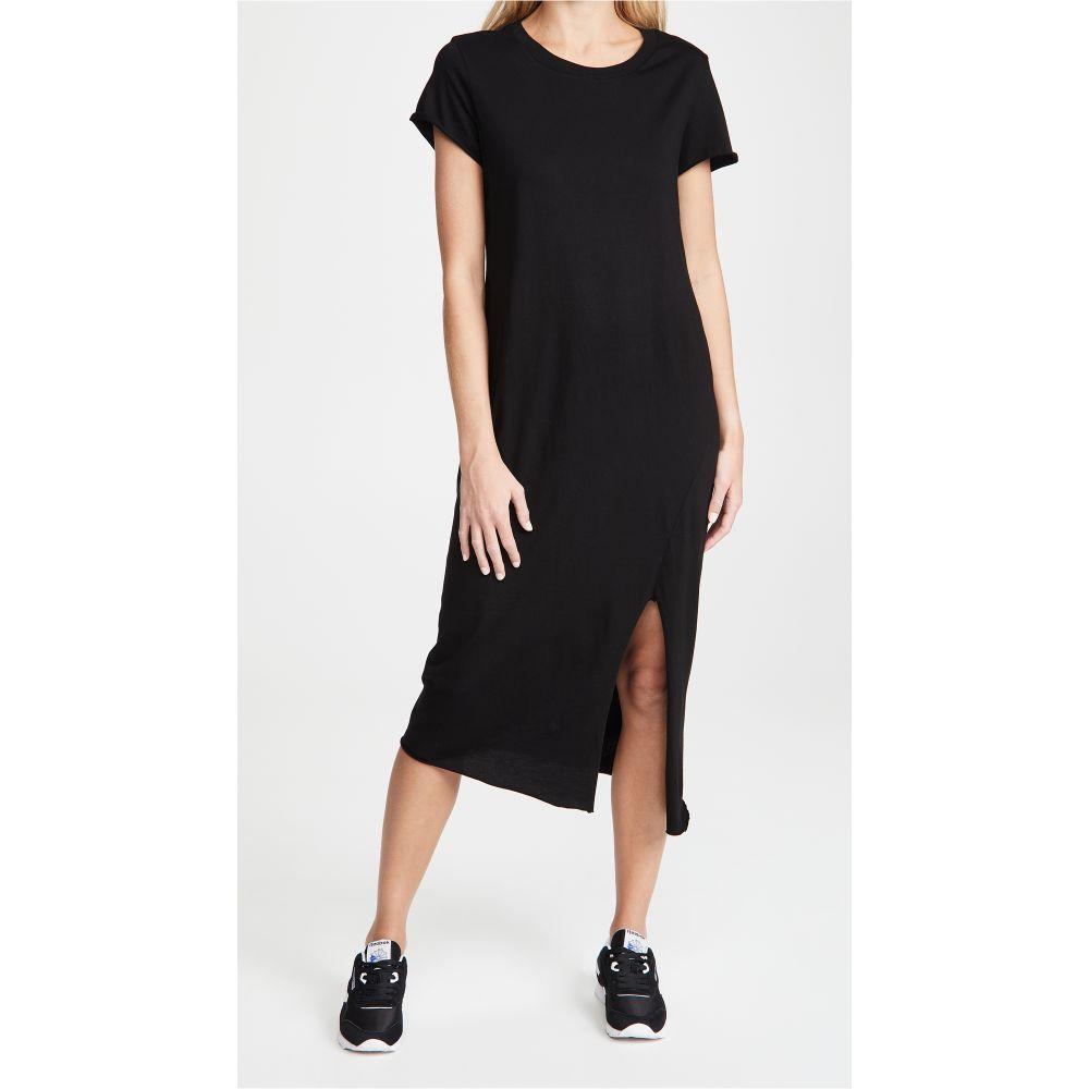 フランク&アイリーン Frank & Eileen レディース ワンピース ワンピース・ドレス【Short Sleeve Crew Neck Dress】Black
