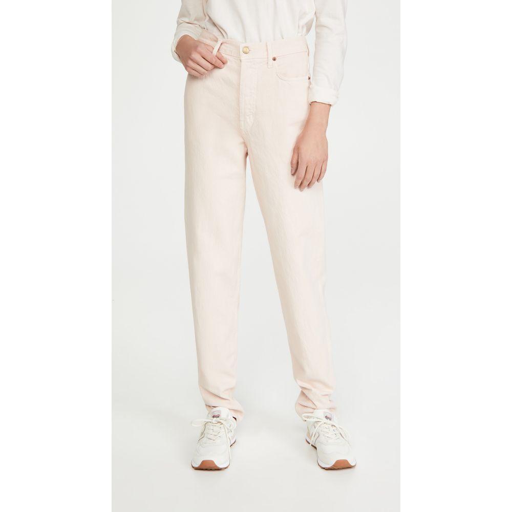 ビーサイズ B Sides レディース ジーンズ・デニム ボトムス・パンツ【Claude High Taper Jeans】Pale Pink