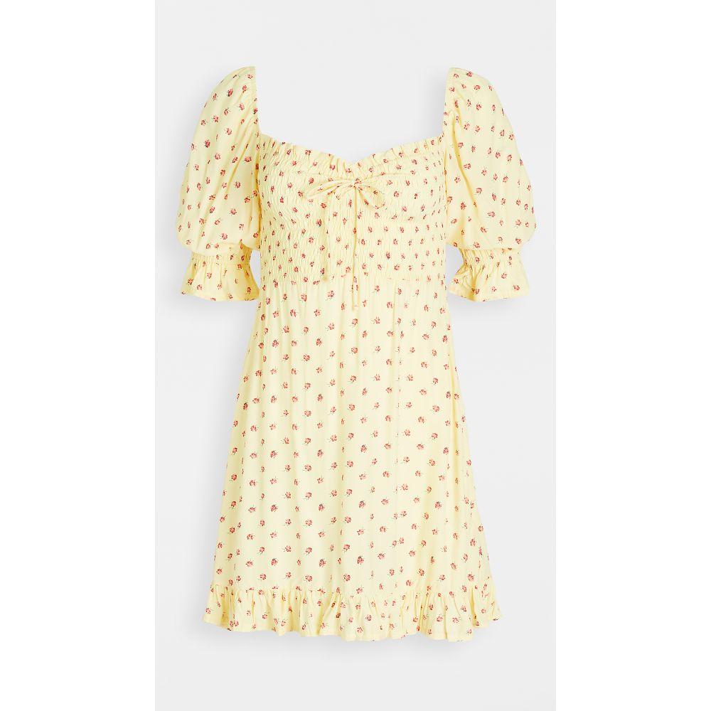 フェイスフルザブランド FAITHFULL THE BRAND レディース ワンピース ミニ丈 ワンピース・ドレス【Sage Mini Dress】Santa Maria Floral Print