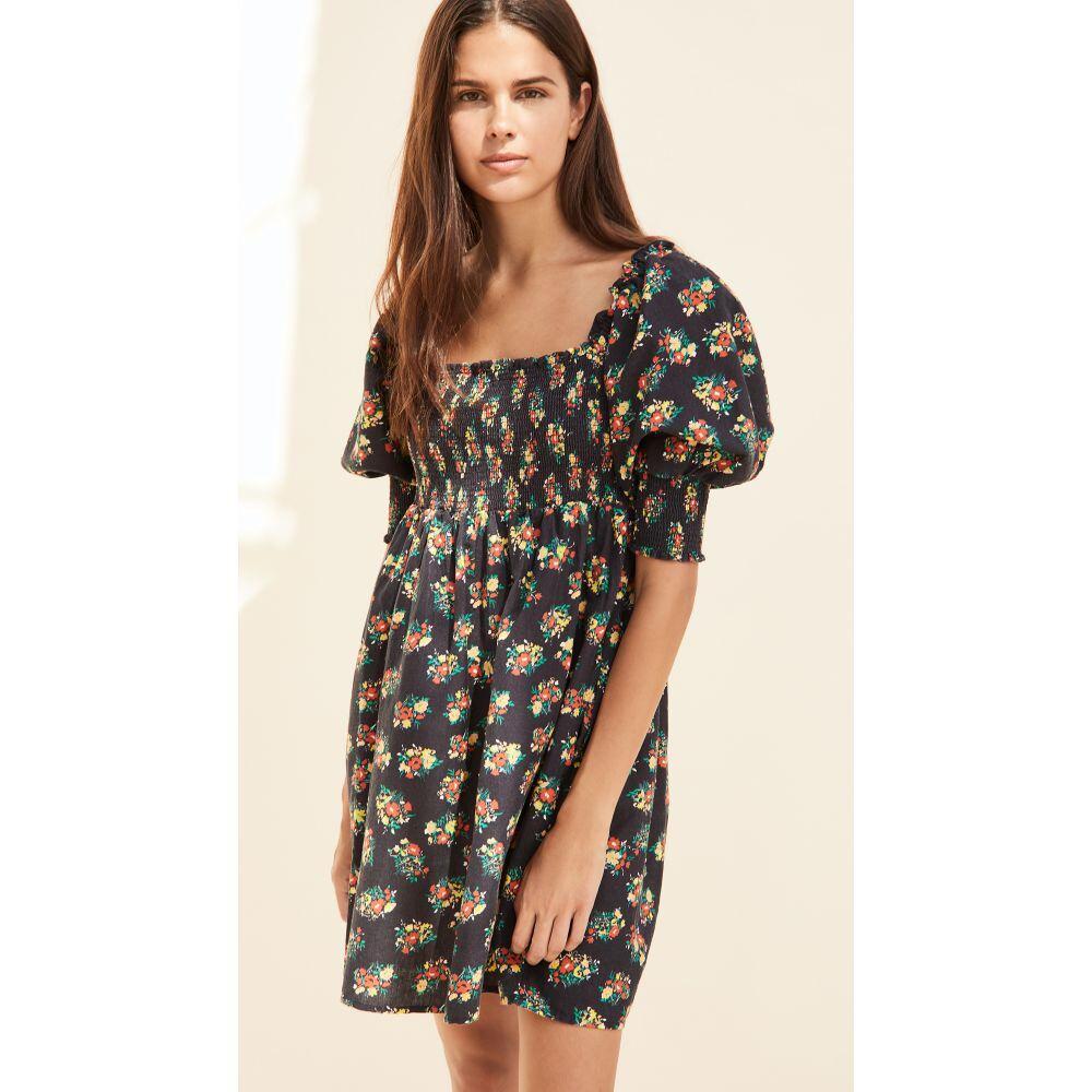 リキソ RIXO レディース ワンピース ワンピース・ドレス【Brenda Dress】Garden Ditsy Black