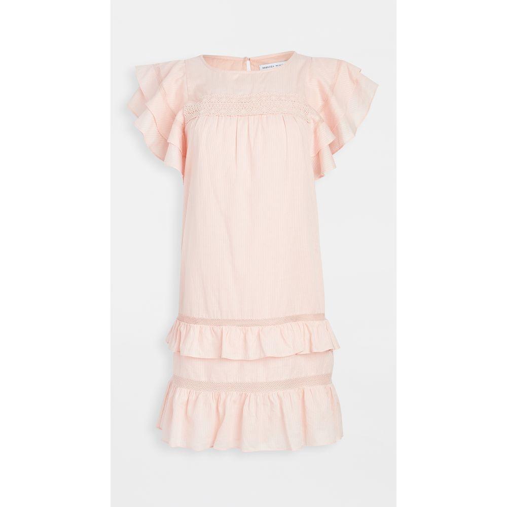 レベッカ ミンコフ Rebecca Minkoff レディース ワンピース ワンピース・ドレス【Ilana Dress】Soft Pink