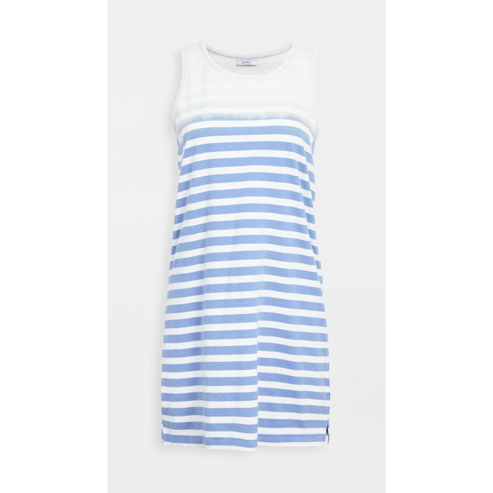 ゼットサプライ Z Supply レディース ワンピース サンドレス ワンピース・ドレス【Aya Sun Stripe Dress】Washed Indigo