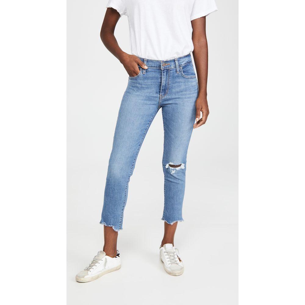 リーバイス Levi's レディース ジーンズ・デニム ボトムス・パンツ【724 High Rise Straight Crop Jeans】New York Y'all