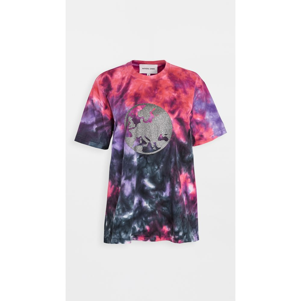 ナターシャ ジンコ Natasha Zinko レディース Tシャツ トップス【Multicolour Oversized T-Shirt】Multicolor