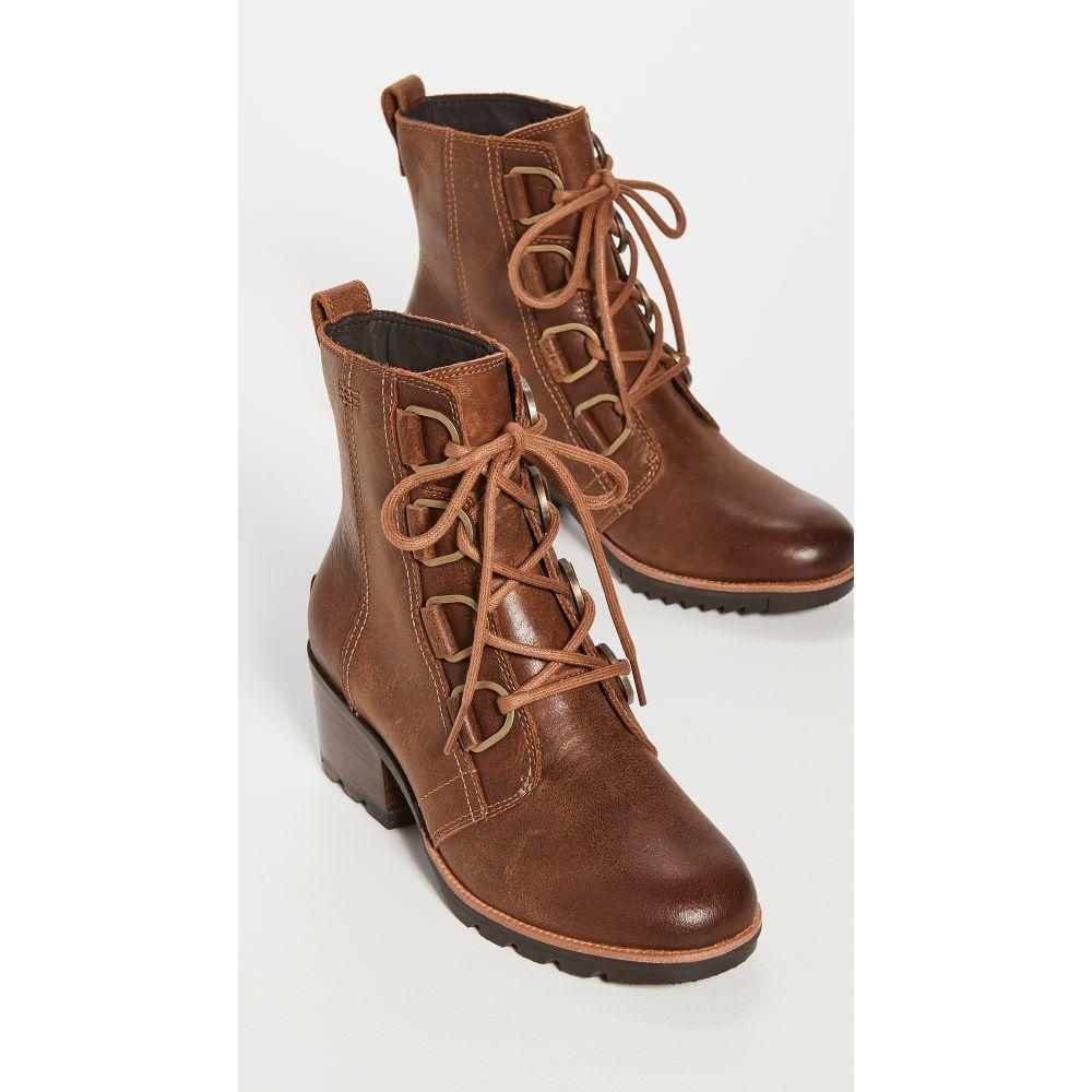 ソレル Sorel レディース ブーツ シューズ・靴【Cate Lace Rogue Boots】Velvet Tan