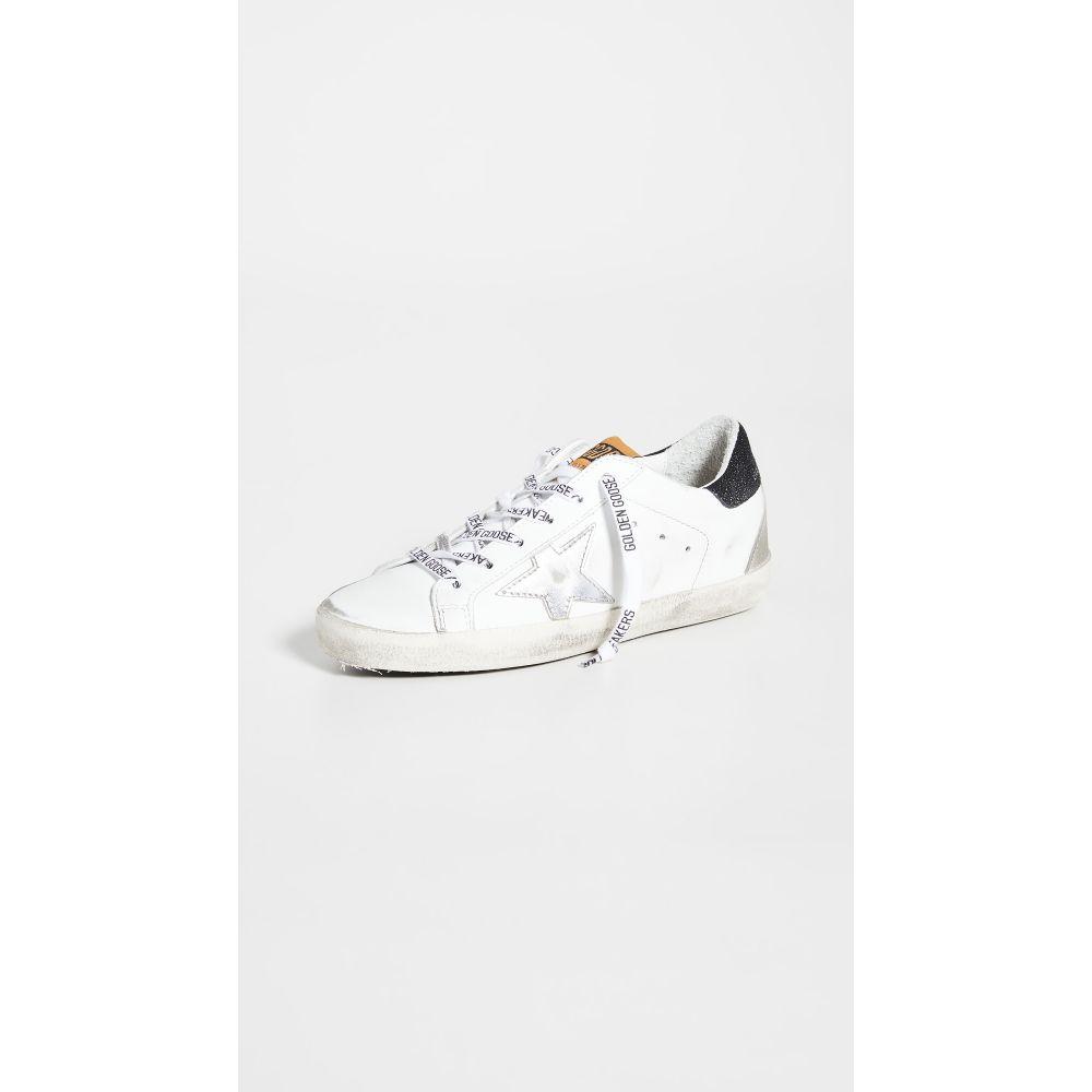 ゴールデン グース Golden Goose レディース スニーカー シューズ・靴【Superstar Sneakers】White/Silver/Black