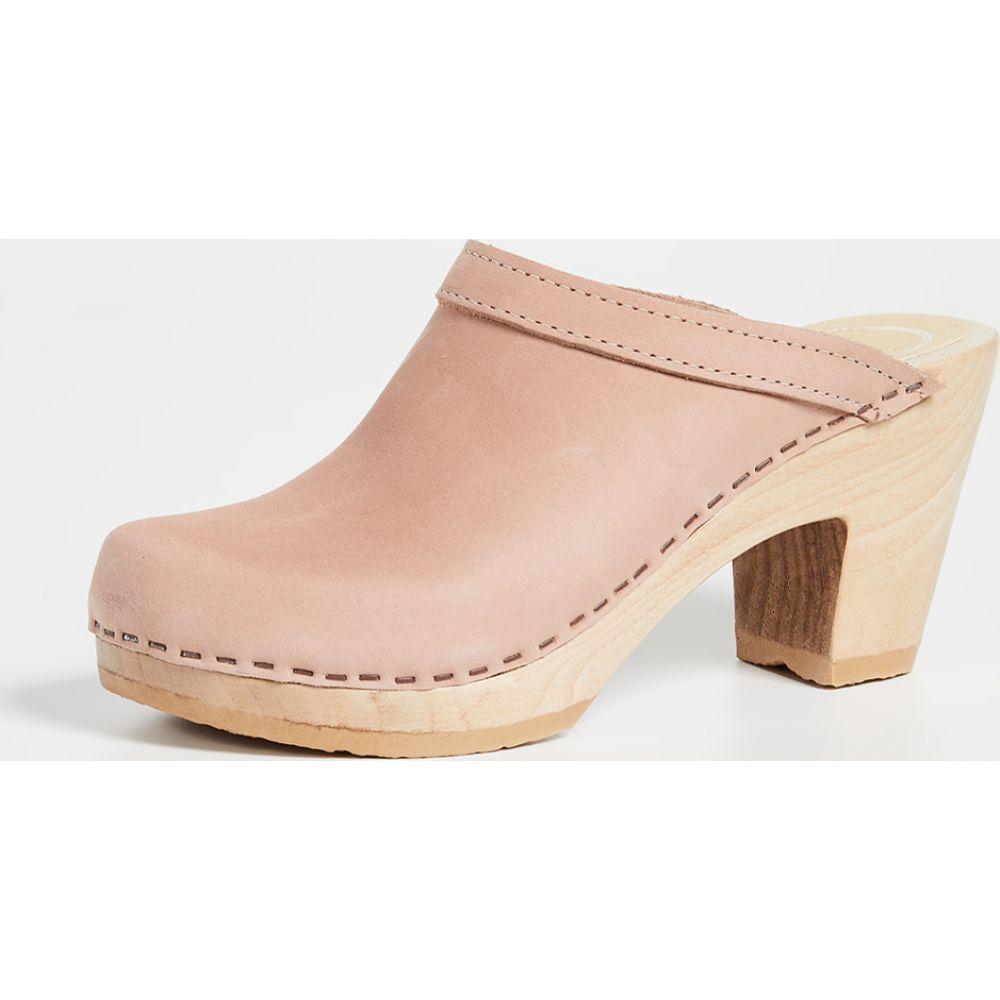 ナンバーシックス No.6 レディース クロッグ シューズ・靴【Old School High Heel Clogs】Pink Sand:フェルマート