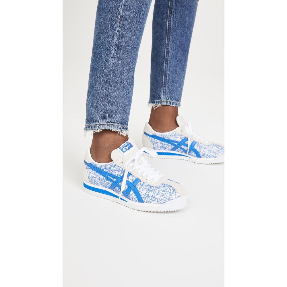 オニツカタイガー Onitsuka Tiger レディース スニーカー シューズ・靴【Tiger Corsair Sneakers】Tuna Blue/Tuna Blue