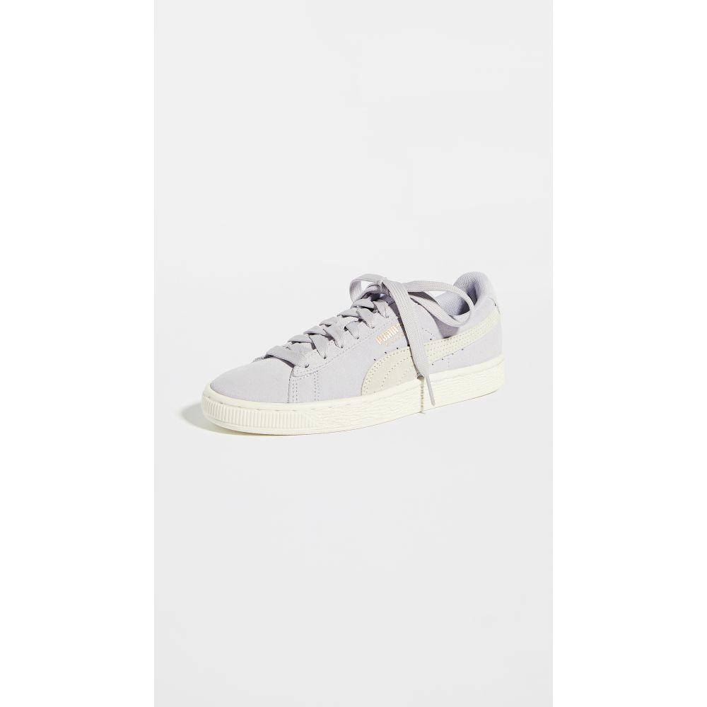 Plus PUMA Sneakers】Purple Classic Heather/Marshmallow シューズ・靴【Suede レディース プーマ スニーカー