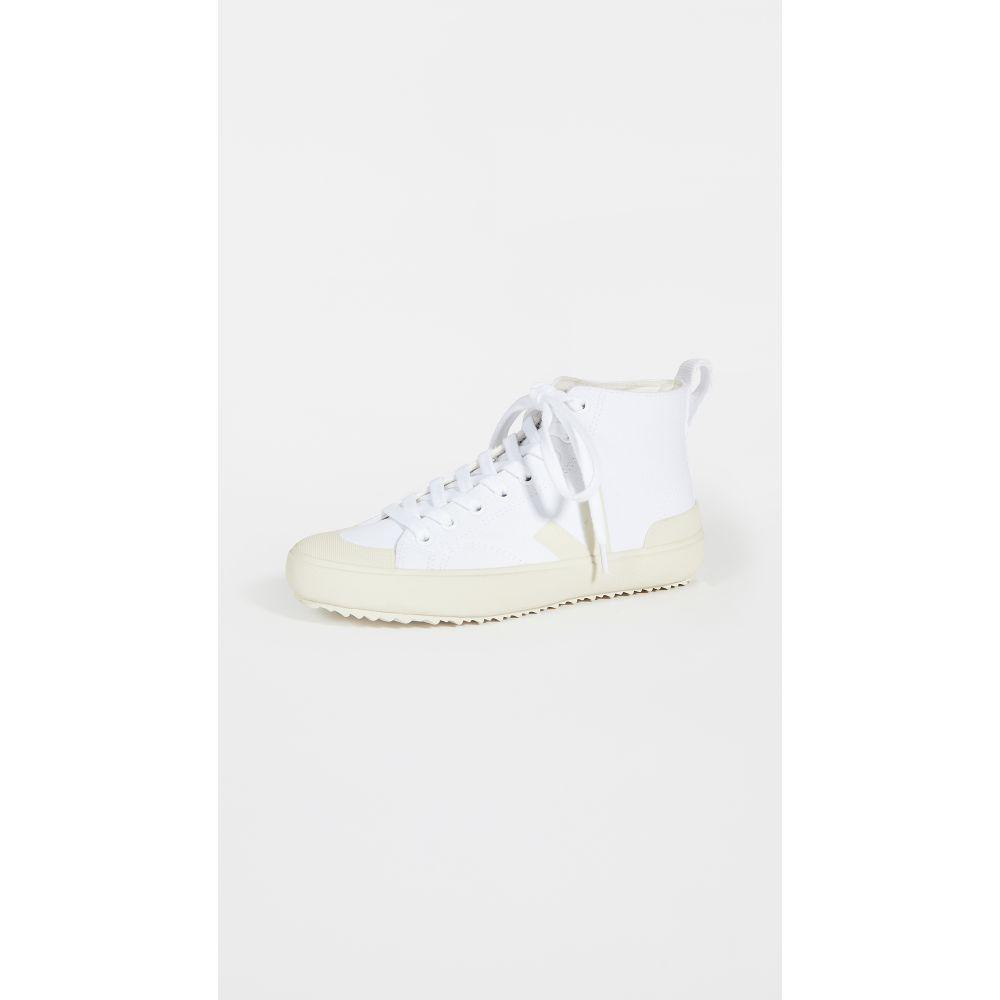 ヴェジャ Veja レディース スニーカー シューズ・靴【Nova High Top Vegan Sneakers】White/Pierre