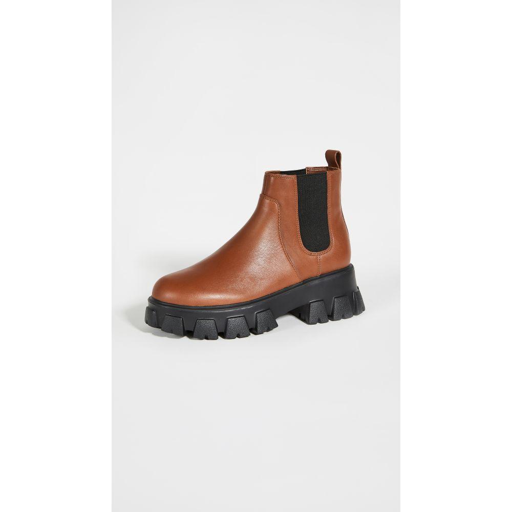 ヴィラ ルージュ Villa Rouge レディース ブーツ チェルシーブーツ シューズ・靴【Packer Chelsea Boots】Dk Bourbon