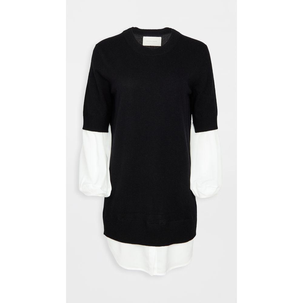 ワンピース Dress】Black/White Layered Walker ワンピース・ドレス【Ebella レディース Brochu ブロシュウウォーカー