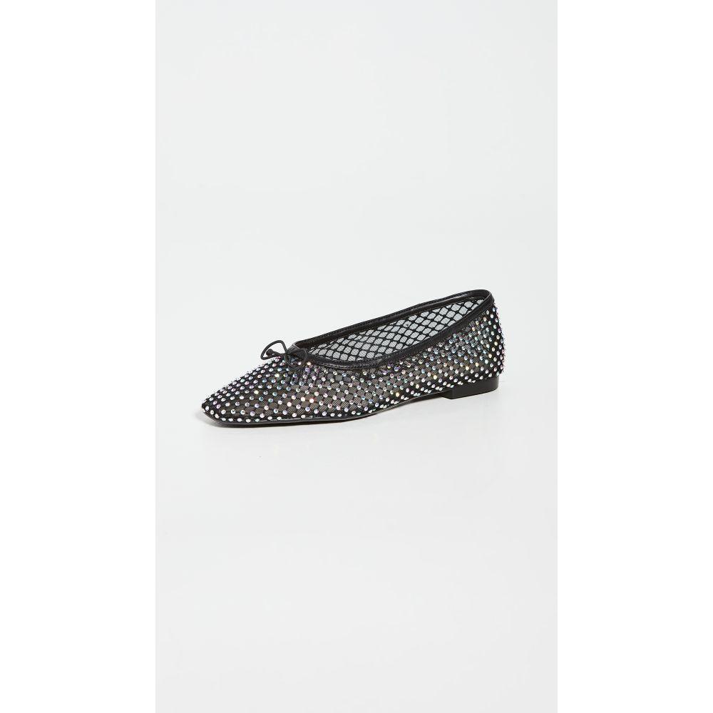 シュッツ Schutz レディース スリッポン・フラット シューズ・靴【Polyna Ballet Flats】Black/Cristal Ab